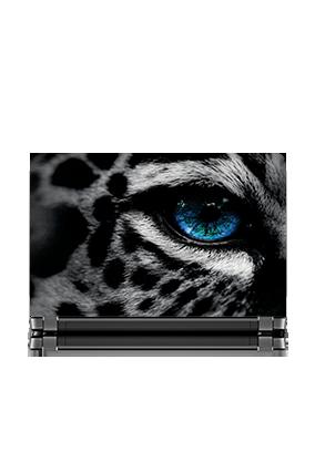 Cutomised Tiger Eye Themed Laptop Skin