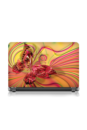 Butterfly Themed Laptop Skin