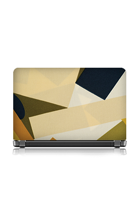 Army Green Color Themed Laptop Skin