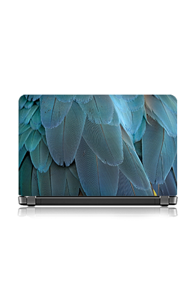 Beautiful Blue Wings Laptop Skin