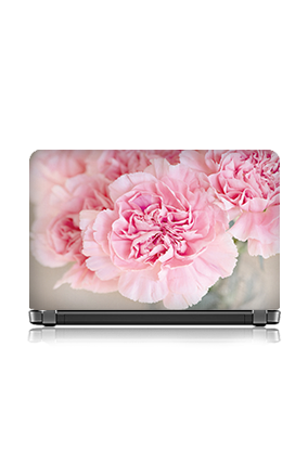 Adorable Pink Roses Themed Laptop Skin