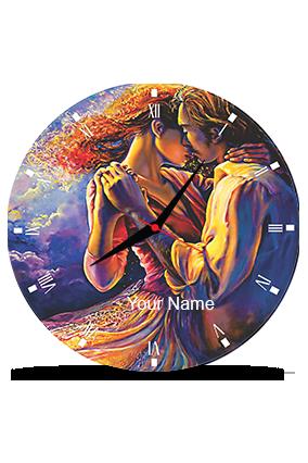 Greetings Wall Clock