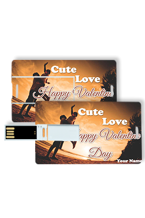 Cute Love Credit Card Pen drives