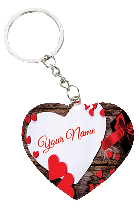 Valentines Day Key Chains Personalized Valentines Day Key Chains