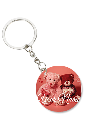 Attractive Round Key Ring