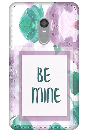 3D - Xiaomi Redmi Note 4 Be Mine Themed Mobile Covers