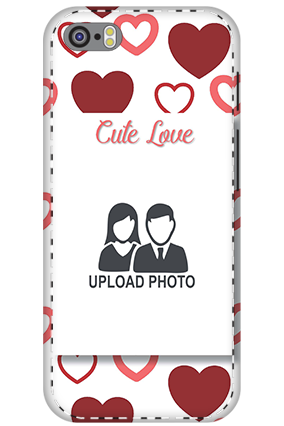 3D - Apple iPhone 5S Customized cute love mobile covers