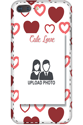 3D - IPhone 7 Plus Customized cute love mobile covers