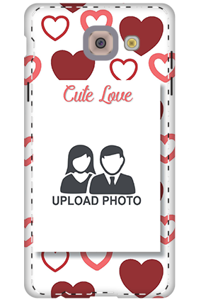 3D - Samsung Galaxy j7 Max Customized Cute Love Mobile Cover