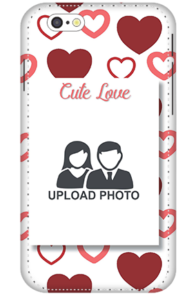 3D - IPhone 6 Customized cute love mobile covers