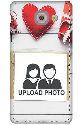 3D - Samsung Galaxy j7 Max Decent Handmade Heart Mobile Cover