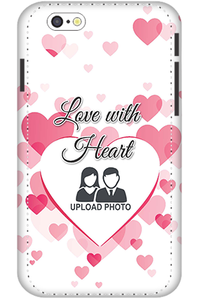 3D - IPhone 6s Love With Heart Mobile Covers