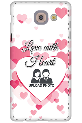 3D - Samsung Galaxy j7 Max Love With Heart Mobile Cover