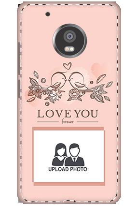 3D - Xiaomi Redmi 3S Prime Peach Love Birds Mobile Covers