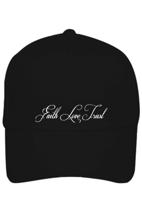 Custom Black Cap - Love & Faith