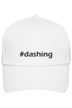 White Cap - Dashing Boyfriend with Name