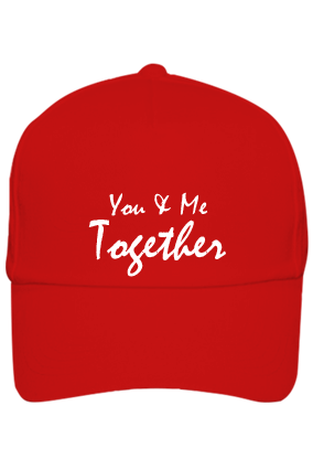 Red Cap - You & Me Together with Name