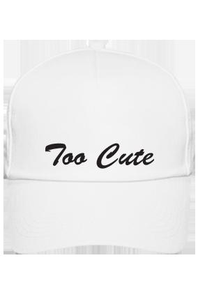 Personalized Too Cute White Cap