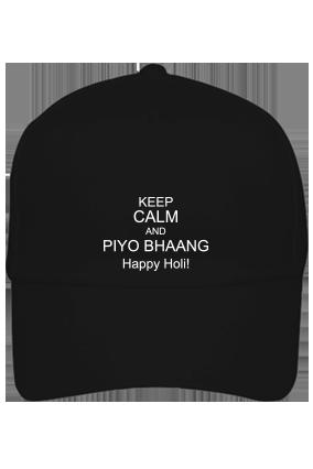 Black Cap - Keep Calm And Happy Holi