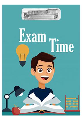 Designer Study Time MDF Exam Board