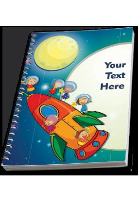Rocket Side Spiral Notebook 2019