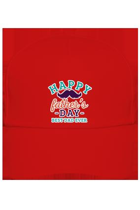 Best Dad Ever  Red Cap