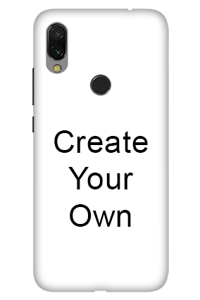 3D-Create Your Own Redmi 7 Mobile Cover