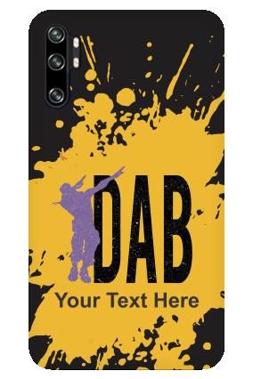 Redmi Note 10 Pro Dab Designer - Mobile Phone Cover