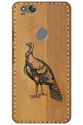 3D - Google Pixel 2 Francolin Lineart Mobile Cover
