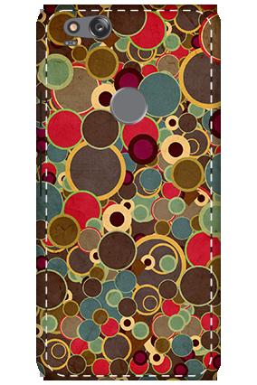3D - Google Pixel 2 Circular Pattern Mobile Cover