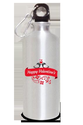 Sliver Glam 600ml Valentine's Day Sipper