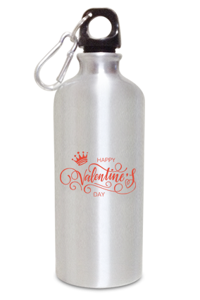 King Logo Glam 600ml Valentine's Day Sippers