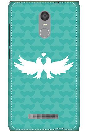 3D - Redmi Note 3 Pretty Love Birds Mobile Covers