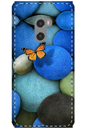 3D - Xiaomi Mi Mix 2 Colorful Stones Mobile Cover