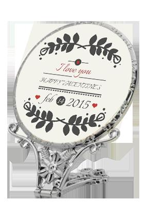 New Valentine'S Day Antique Standing Mirror