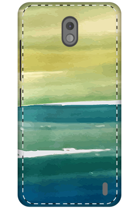 3D - Nokia 2 Ocen Water Painting Mobile Cover
