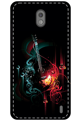 3D - Nokia 2 Abstract Design Mobile Cover