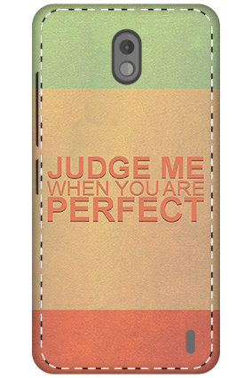 3D - Nokia 2 Judge Me Mobile Cover