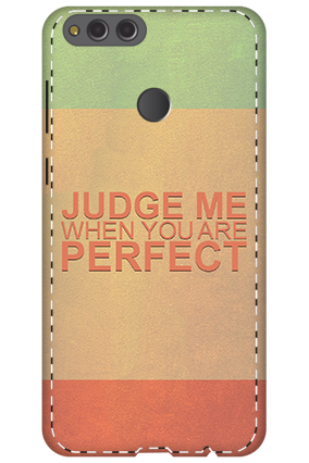 3D - Huawei Honor 7X Judge Me Mobile Cover