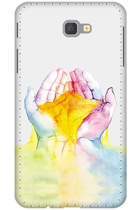 3D - Samsung Galaxy J7 Prime Colorful Hand Mobile Covers