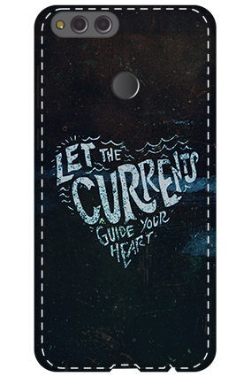 3D - Huawei Honor 7X Guide Your Heart Mobile Cover