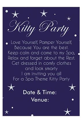 Stars Twinkling Invitation Card
