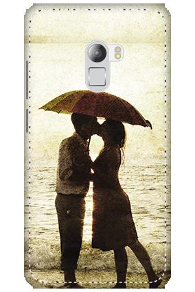 3D - Lenovo K4 Note White High Grade Plastic Lovely Couple Mobile Cover
