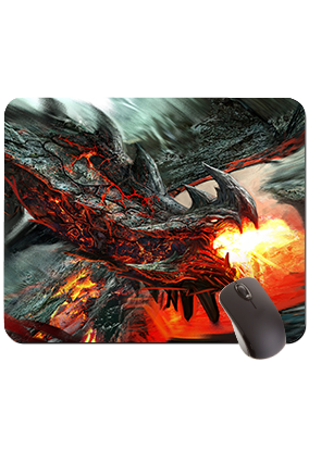 Dragon Rectangular Mouse Pad