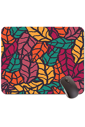 Autumn Leaves Rectangular Mouse Pad