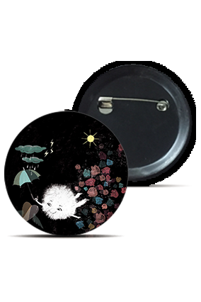 Shooting Star Round Kid's Badges