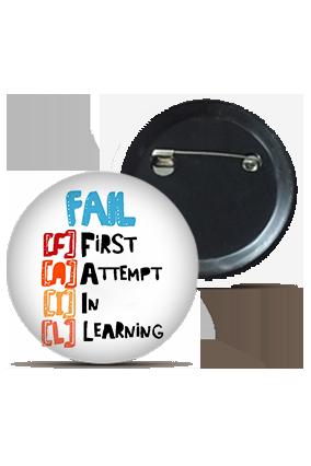 Learning Skills Round Shape Kids Badges