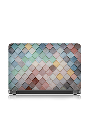 Bright Colors Cone Themed Laptop Skin