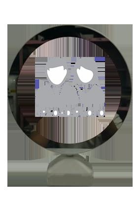 Round Shape Led Photo Frame