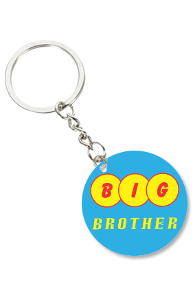 Big Brother Round Shape Key Chain